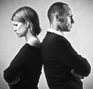 Мужчина и женьшина