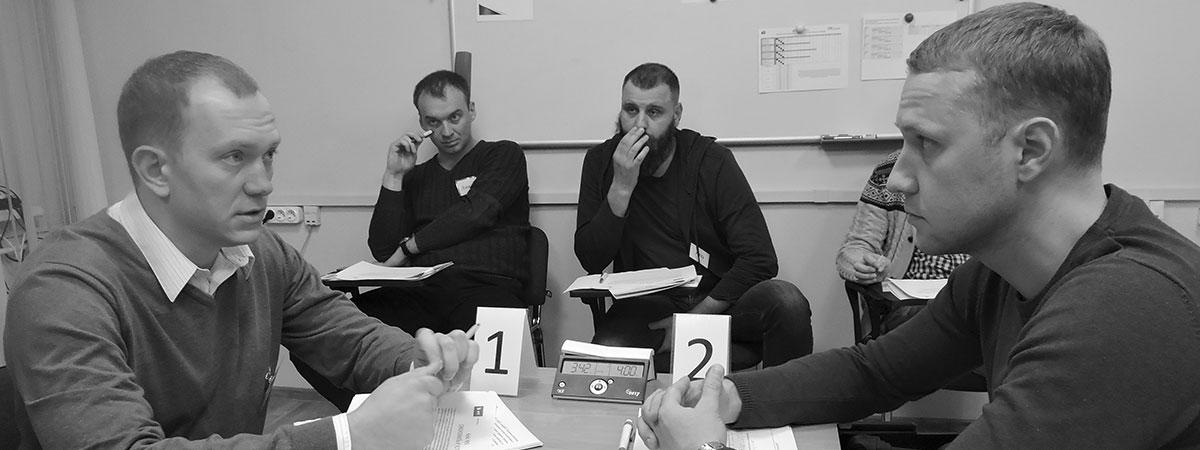 Подготовка к Чемпионату Юга России по управленческой борьбе